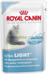 Royal Canin Ultra Light для кошек облегченный