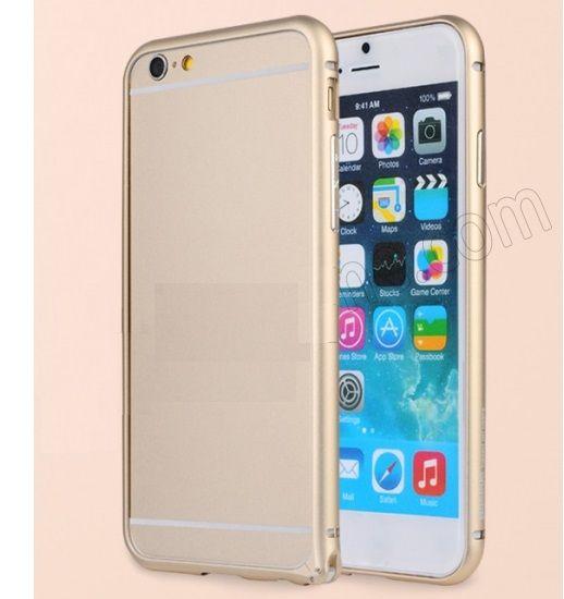 Алюминиевый бампер на iphone 6 plus (gold )