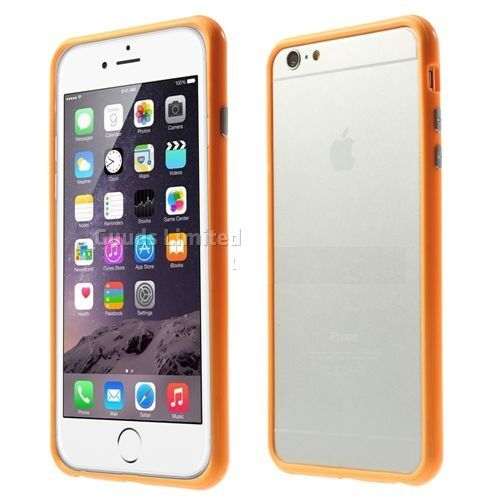 Бампер оригинальный для iphone 6 (оранжевый)