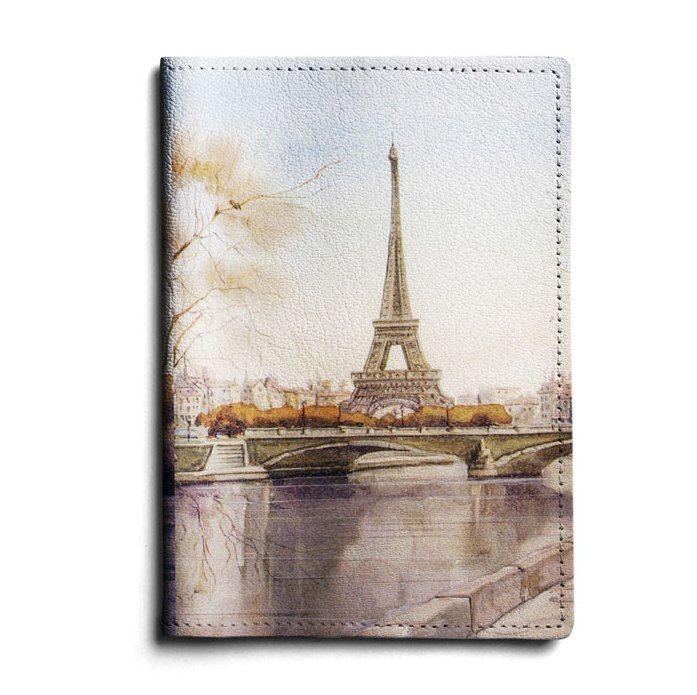 """Кожаная обложка для автодокументов """"Paris"""""""