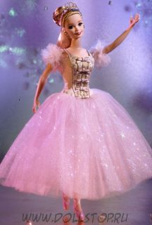 Коллекционная кукла Барби Балерина Фея Драже из Щелкунчика - Barbie Doll as the Sugar Plum Fairy