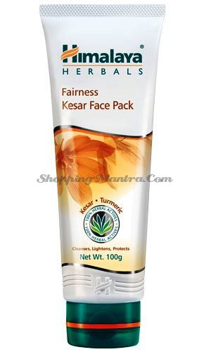 Осветляющая маска для лица Шафран&Турмерик Хималая / Himalaya Fairness Kesar Face Pack