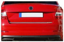 Накладка (кант) на край крышки багажника, Omsaline, нерж. сталь
