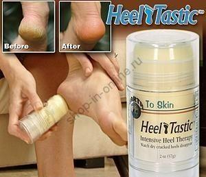 Средство для избавления от грубой кожи пяток Heel Tastic