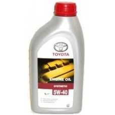 Моторное масло TOYOTA Engine Oil Synthetic SAE 5W-40 (1л)