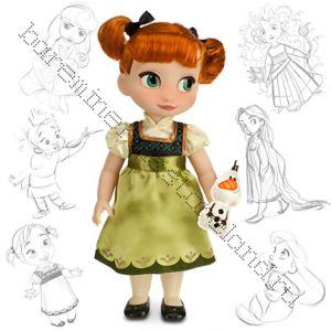 Anna Toddler Doll со снеговиком в руках
