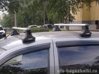 Багажник на крышу Lada Granta, Атлант, аэродинамические дуги