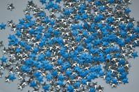 Украшение для ногтей - звезды (50 штук в пакетике) Цвет: синие