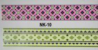 3D-наклейки на клеевой основе для дизайна ногтей, NK-10