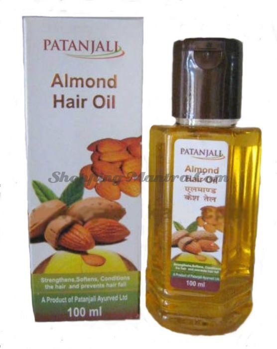 Миндальное масло для волос Патанджали Аюрведа (Divya Patanjali Almond Hair Oil)