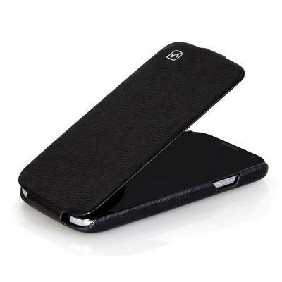 Чехол HOCO для Samsung Galaxy S4 i9500/ i9505 - HOCO Leather Case Black