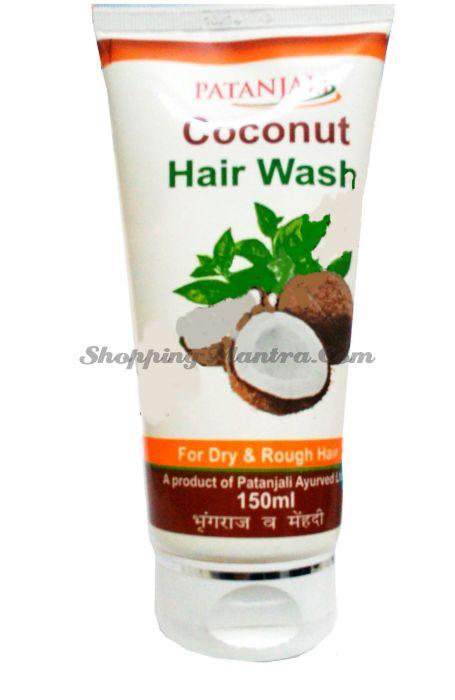 Кокосовый шампунь для волос Патанджали Аюрведа | Divya Patanjali Coconut Hair Wash