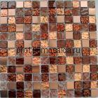 012 Мозаика серия GLASSTONE,  размер, мм: 300*300 (КерамоГраД)