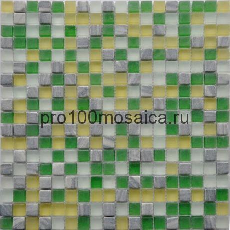 GS084 (6мм) Мозаика серия GLASSTONE,  размер, мм: 300*300 (КерамоГраД)