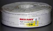 Провод телевизионный RG-6 Rexant