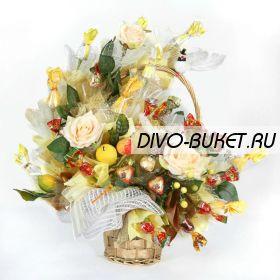 """Букет из конфет №015 """"Золотой сад"""""""