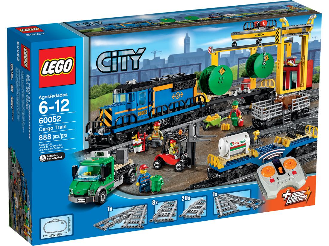 Грузовой Поезд. Конструктор Lego City 60052