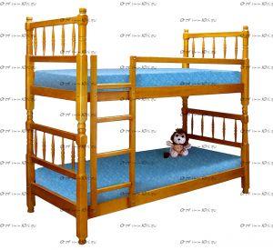 Кровать двухъярусная Наф-наф (ВМК Шале)
