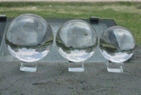 Прозрачный шар (акрил) - 100 мм