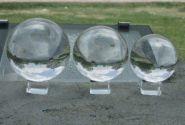 Прозрачный шар (акрил) - 90 мм