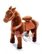 """Поницикл  """"Темно-коричневая лошадка"""" маленький"""
