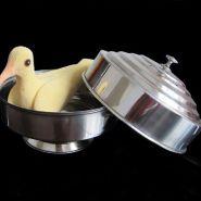Кастрюля для голубя 20,5*14 см (двойная загрузка)