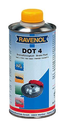 Тормозная жидкость RAVENOL DOT-4