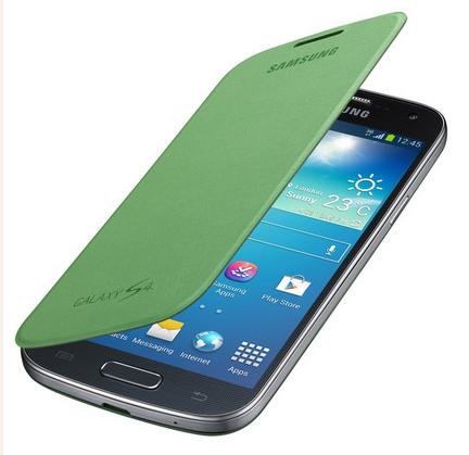 Чехол Samsung Flip Cover для Samsung GT- I9500 Galaxy S4 - Green