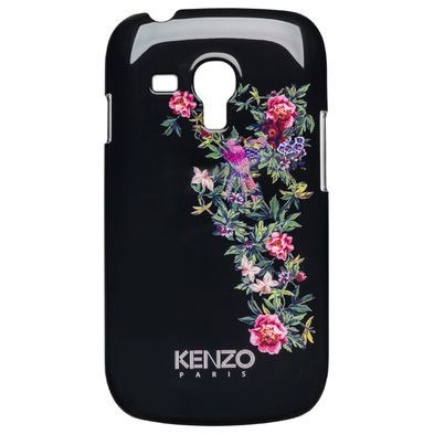 Накладка Kenzo Exotic Cover для Samsung GT-I8190 Galaxy S III mini -  Black