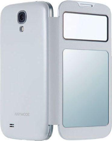 Чехол Animode Smart View  для Samsung GT- I9500 Galaxy S4 - White
