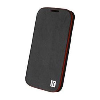 Чехол Kenzo Chik Case для Samsung GT-I9500 Galaxy S4 - Black (кожа)