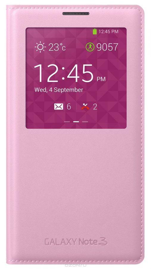 Чехол Samsung Flip Wallet для Samsung N9000/N9005 Galaxy Note 3 - Pink
