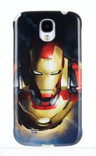 Накладка Marvel Animode NFC для Samsung GT- I9500 Galaxy S4 - iron man