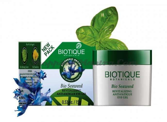 Гель для кожи вокруг глаз Биотик Морские водоросли | Biotique Seaweed Eye Gel