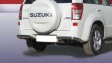 Защита заднего бампера, SL, уголки, нерж. сталь ф 57мм