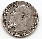 1 франк Бельгия 1904 Des Belges