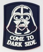 Шеврон ПВХ Come to dark side
