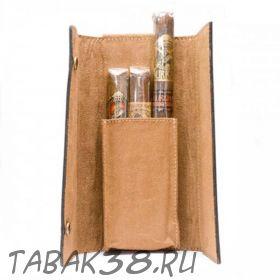 Подарочный набор Gurkha Cigar Case Sampler (3 сигары, кейс, кожа)