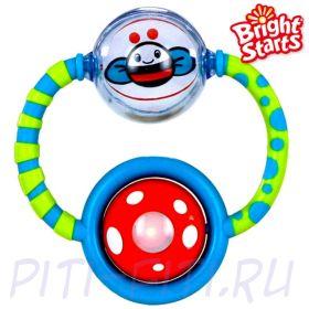 """Bright Starts. Интерактивная развивающая игрушка """"Крутящиеся шарики"""" (свет)"""