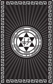 """Магическая карта """"Талисман для удачи в любви"""", 90х57 мм, сталь с покрытием"""