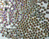 Камни Swarovski прозрачные голограммные (размер #16 -3,5 мм) - 50 штук