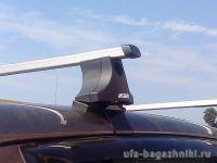 Багажник на крышу Hyundai Tucson, без рейлингов, Атлант, прямоугольные дуги