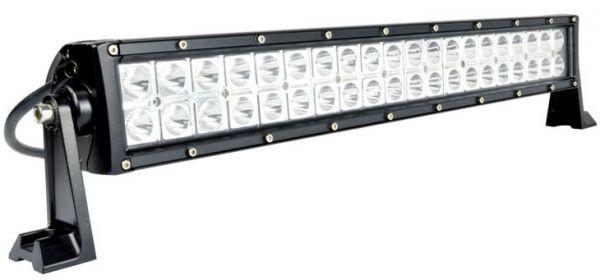 Двухрядная светодиодная LED балка - 120W 3000K/6000K (БЕЛЫЙ/ЖЕЛТЫЙ) КОМБО