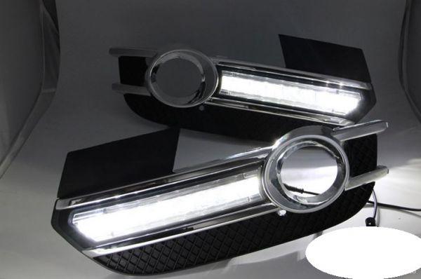 Дневные ходовые огни Audi Q3