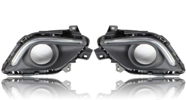 Дневные ходовые огни Mazda 6 2013-2014