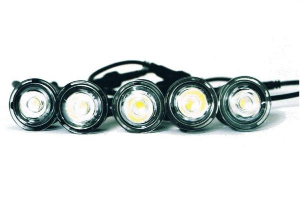 Универсальные дневные ходовые огни Hella Style 10 ламп