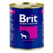 Brit Heart & Liver - Сердце и печень, консервы для собак (850 г)