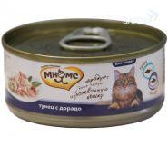 Мнямс Консервы для кошек Тунец с дорадо в нежном желе (70 г)