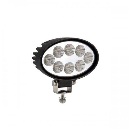 Овальная светодиодная LED фара рабочего света 24W