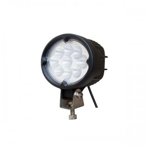 Овальная светодиодная LED фара рабочего света 27W